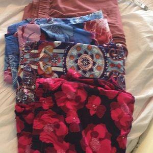 Lot of agnes and Dora leggings 4 pairs